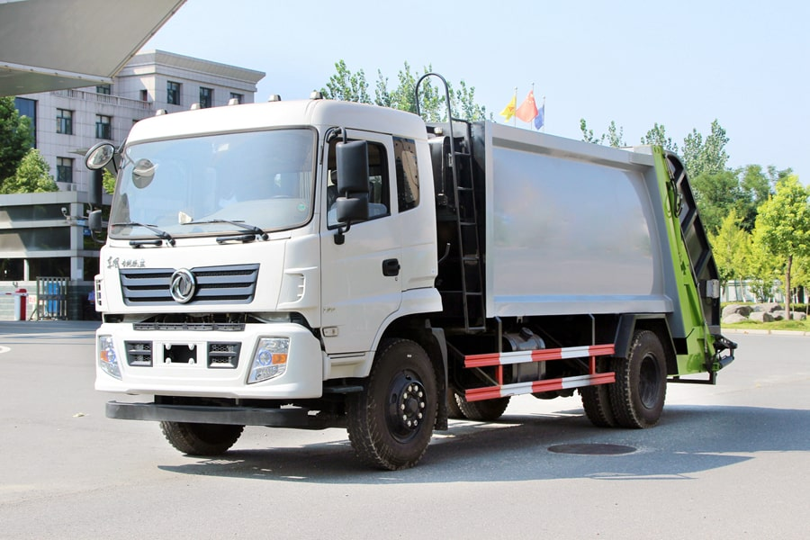 Truck Of Waste Management