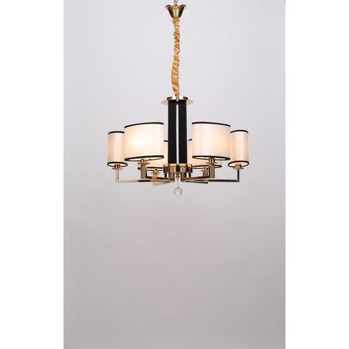 Delicate Villa Project French Gold Iron Chandelier