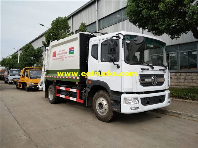 115HP Rubbish Compactor Vehicles