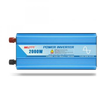 Reliable 2000 Watt Pure Sine Wave Power Inverter