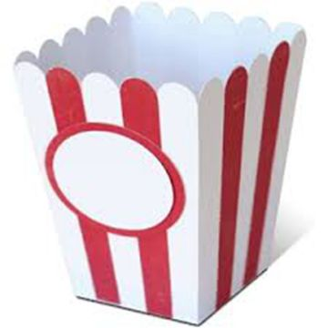 Fresh Popcorn Paper Boxes Paper Popcorn Bags