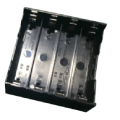 4 pieces battery holder 18650 with PC Pins