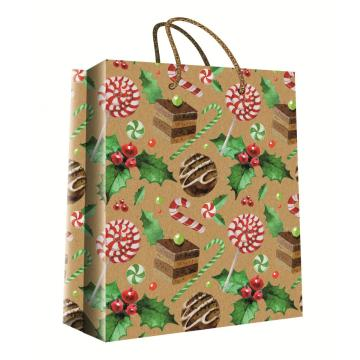 CHRISTMAS KRAFT GIFT BAG49-0