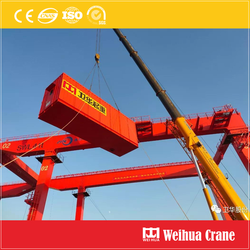 Container Crane Installation