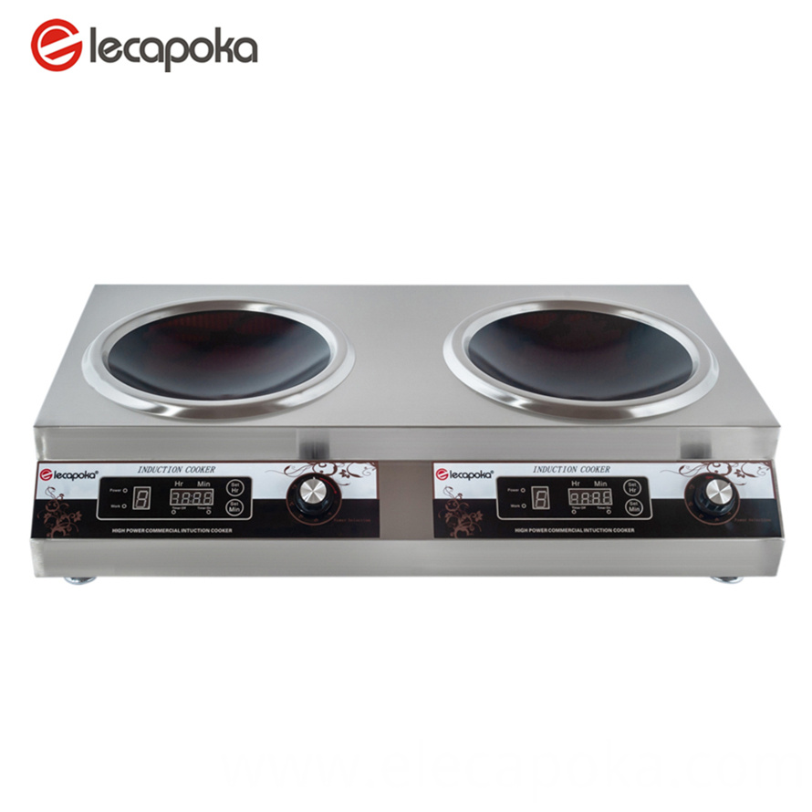double head induction cooker
