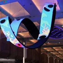 P4 flexible led screen/soft led display