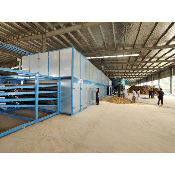 4Deck Roller Veneer Dryers Line