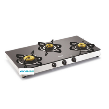 Glen 3 Burners Table Glass Cooktop