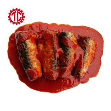 Quality Canned Sardines Fish In Tomato Sauce 155g