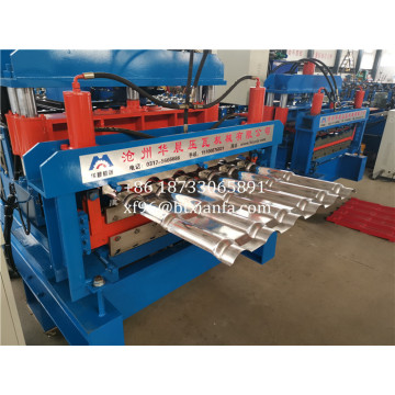Glazed and IBR Tile ​Roofing roll forming machine