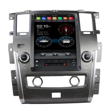Android car audio system for Nissan Patrol 2013
