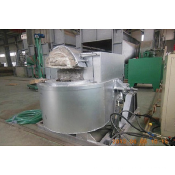 Tiltable Crucible Aluminum Melting Furnace Price