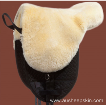 Comfortable Saddle Pad with Removable Sheepskin