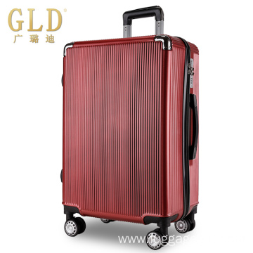 4 double wheels durable abs travel luggage