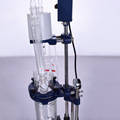 5L mini lab jacket glass reactor