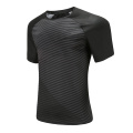 Mens Dry Fit Soccer Wear T Shirt Black