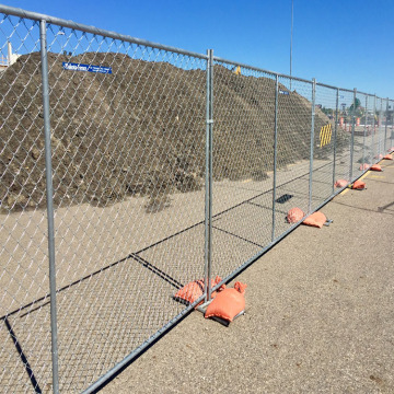 plastic coated used chain link fence for sale