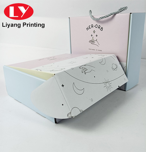 Packaging Corrugated Boxes Shipping Mailer Shoe T-shirt Box