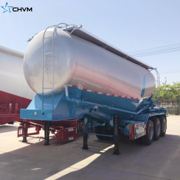 40CBM Bulk Cement Tanker Trailer Air Compresor