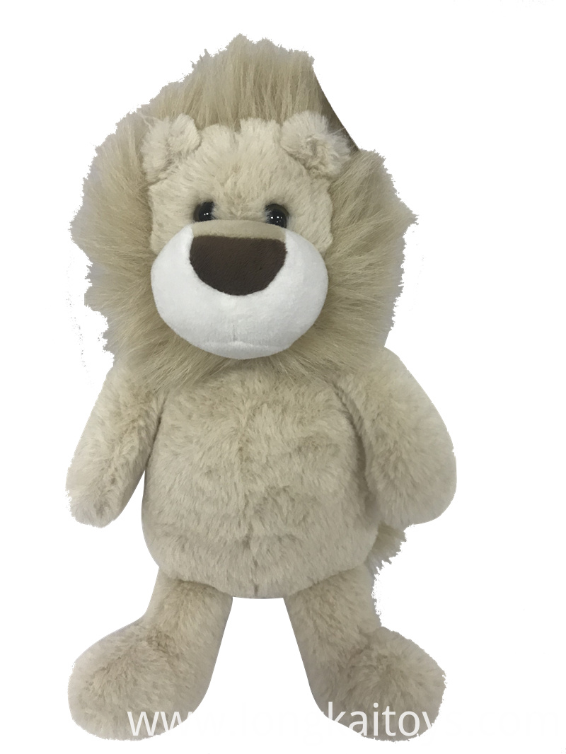 Plush Lion Animal Toy