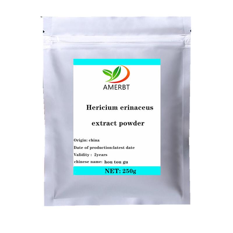ISO Hot sale Hericium Erinaceus Extract Lions Mane Hericium Erinaceus Mushroom 99% /hoou tou gu/High quality, free shipping