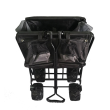Oxford Cloth Foldable Garden Wagon Trolley Cart