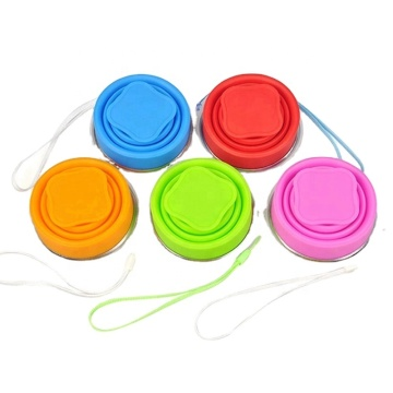 High Quality Portable Silicone Collapsible Tea Cup