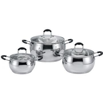 stainless steel casserole Apple shape