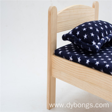 Factory direct wholesale wooden dog bed indestructible dog bed