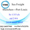 Shenzhen Port Sea Freight Shipping To Port Louis