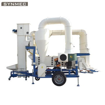 Corn Maize Wheat Grain Seed Processing Machine