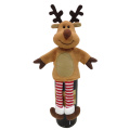 Christmas 3D reindeer shape wine bottle cover