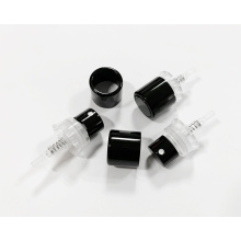 15mm bottle neck black crimpless perfume atomizer pump