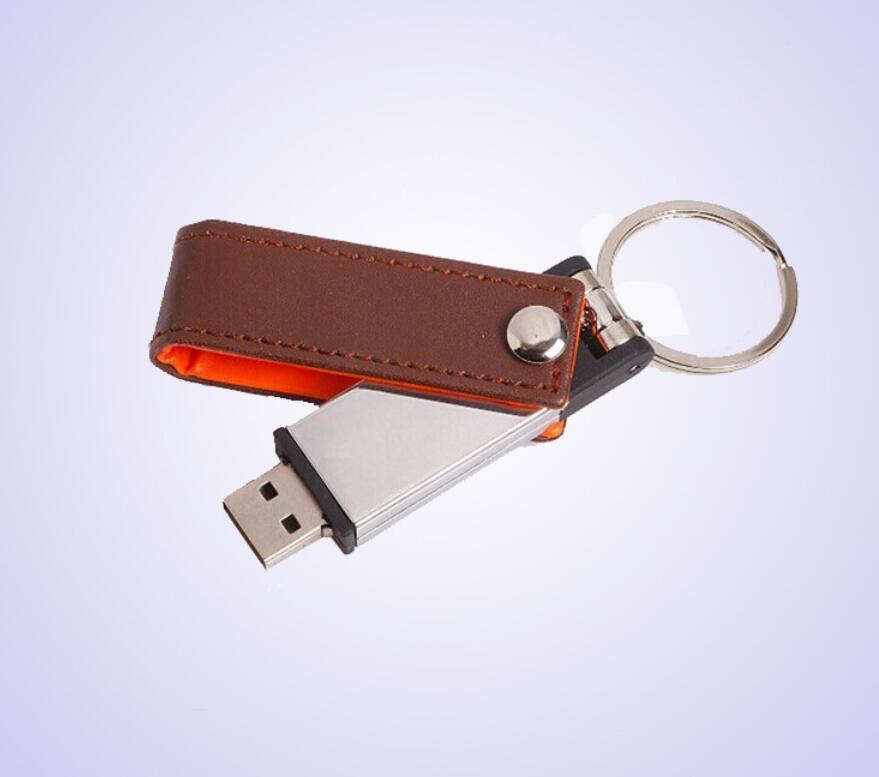 swivel leather usb 1