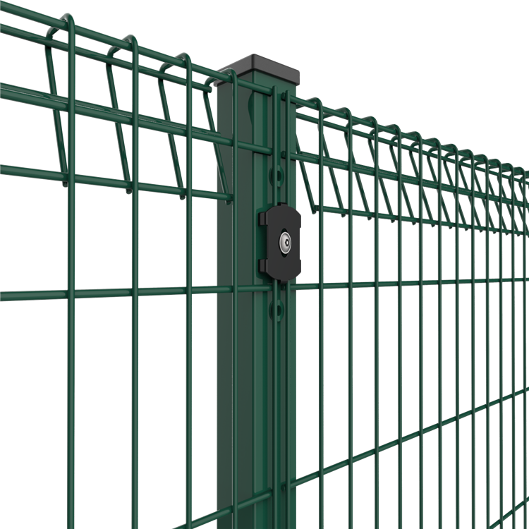 Roll  top fences panels