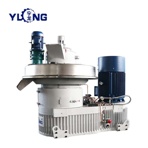 YULONG XGJ850 3-4T/h Pellet Machine From Wood sawdust for sale
