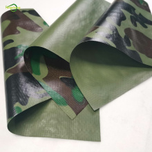 camouflage uv waterproof tarpaulin