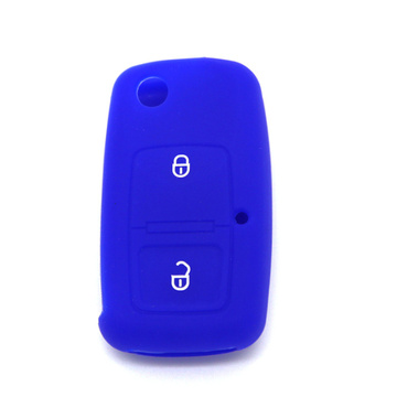 Volkswagen 2 buttons silicone car key cover