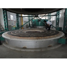 Full-fiber automatic bell type resistance furnace