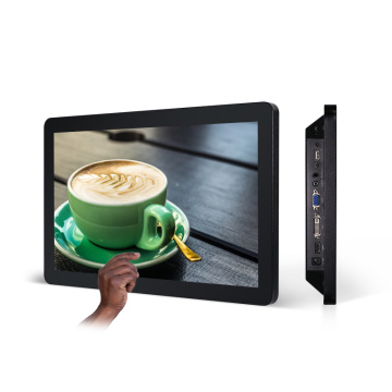 18 inch wall mounted touch screen computer