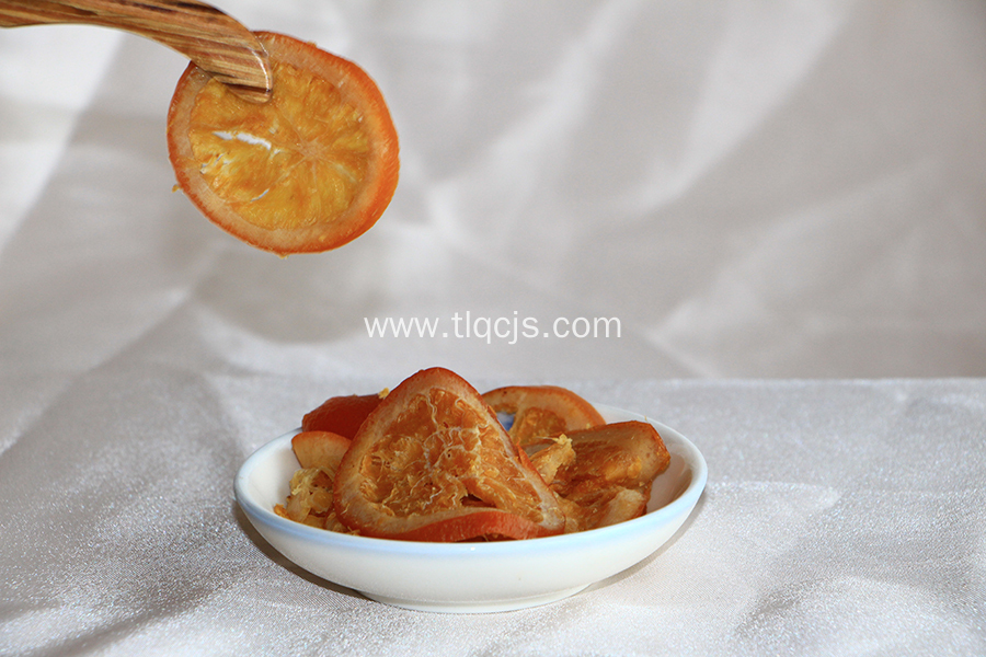 Enzyme navel orange slices