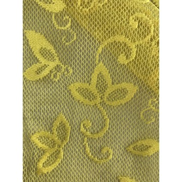 Textured Polyester Lace Fabric