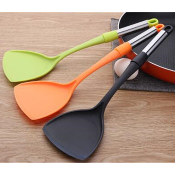 Best Cooking utensils Green Orange nylon spatula turner