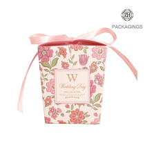 Carton Cute Design Wedding Favors Candy Gift Box