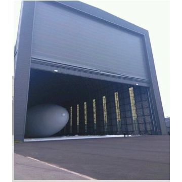 Mega Hangar i madh PVC Anti-Wind Stacking Door