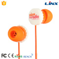 Mobile phone Earphone with mic for cell phones