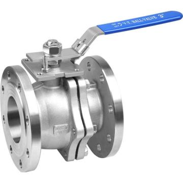 2PC Flanged Wcb 150lb Floating Ball Valve