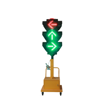 DC 12v 24v Led Traffic Signal Light Solar Lamp