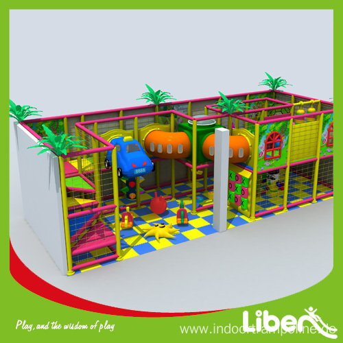 Interior playground structures equipments