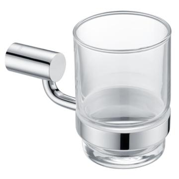 Hotel Classic Wall Mounted Glass Holder Chrome